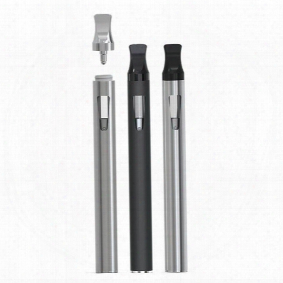 New Green Oil Disposable Vape Pen Ecig 300 Puffs No Button Vaporizer Pen Cartridge For Essential/thick/co2/green Oil Vpen