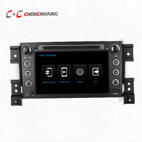 Octa Core 1024x600 Android 6.0 Car Dvd Player For Suzuki Grand Vitara With Radio Gps Navi Wifi Dvr Mirror Link Swc Multimedia