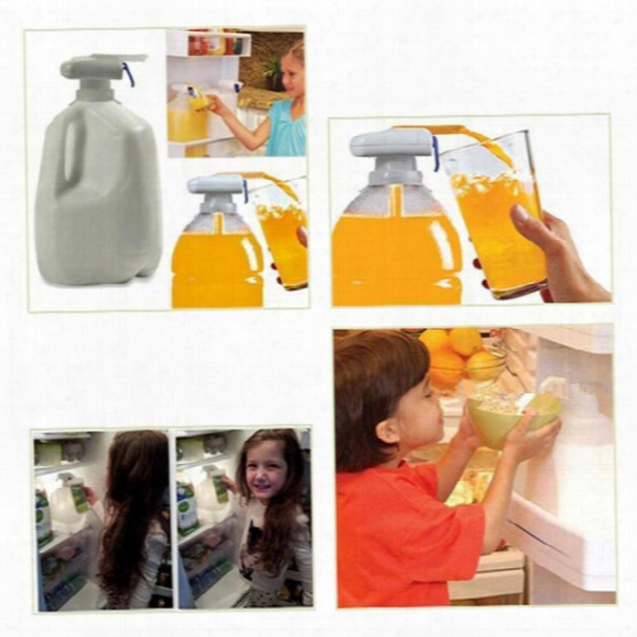 The Magic Tap Spill Stopper Electric Automatic Water & Drink Beverage Dispenser Spill Proof With Logo Packing