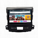 "9"" Android 7.1 Car DVD Radio For Mitsubishi Outlander 2007-2011 GPS Navi Recorder BT 4.0 WIFI 4G SWC OBD DVR RDS 2G+16G RAM Quad Core Touch"