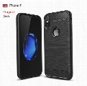 For iphone 8 case 6 7plus 5s SE Mobile phone shell carbon fiber drawing tpu all-inclusive apple 8 case protective cover