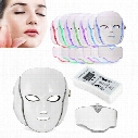 LED Phototherapy Skin Rejuvenation Whitening Face Neck Mask 7 Colors Anti- Ance