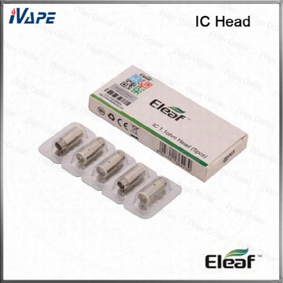 100% Original Eleaf Ic Head 1.1ohm Ic Coils For Icare Kit Icare Mini Kit Icare Coils Icare Mini Coils