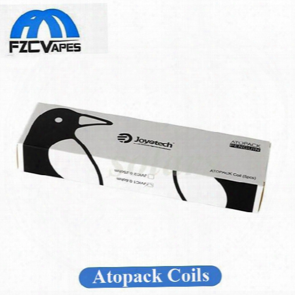 100% Original Joyetech Atopack Penguin Coil Head Jvic1 0.6ohm Jvic2 0.25ohm Cartridge Head For Authentic Penguin Kit