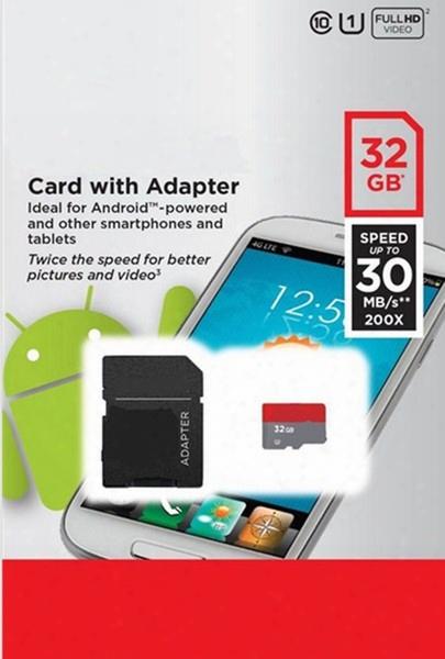 100% Real Original Full 2gb 4gb 8gb 16gb 32gb 64gb 128gb Geunine Capacity Micro Sd Tf Microsd Sdxc Sdhc Memory Card For Samsung Shipping