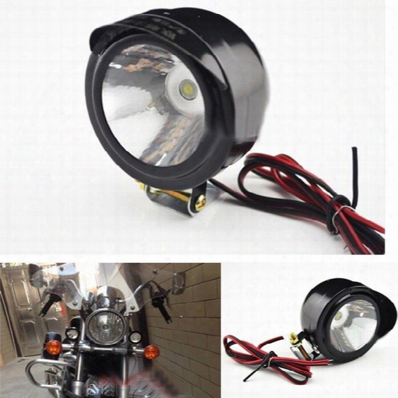 12v-80v Motorcycle Bike Headlight Super Bright Spot Light Electric Light Led Lights Car Reversing Light Motorcycle Modification Lamp 5w