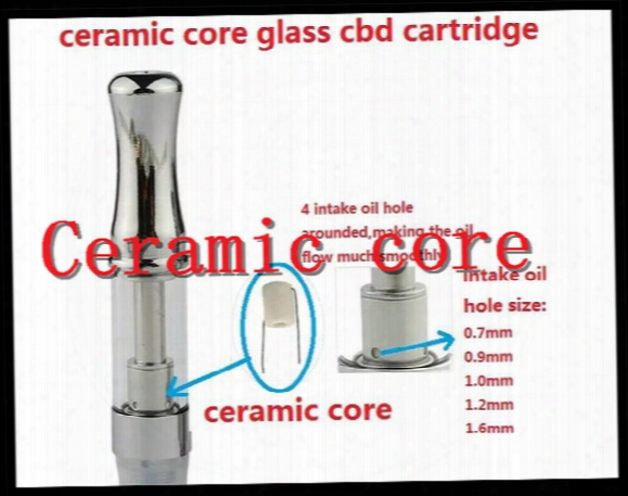 2017 New Ceramic Coil O.pen Vape Oil Glass .5ml Disposable Cartridges Co2 Tank Disposable Atomizer Bud Touch Vape Pen E Cigarette Tank