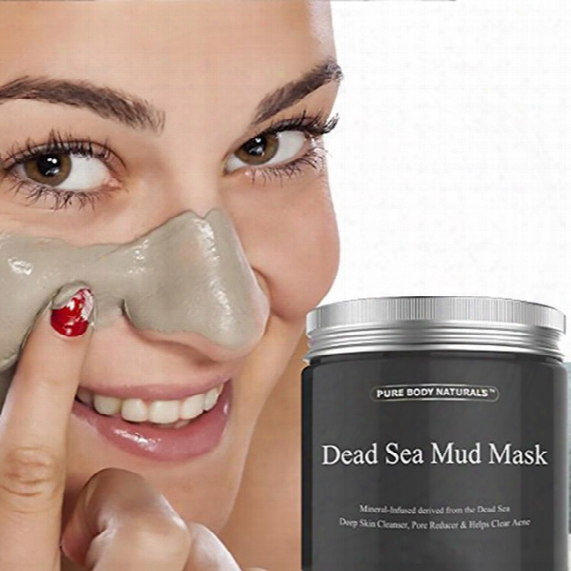 2017 New Dead Sea Mud Mask Deep Cleaning Hydrating Acne Blemish Black Mask Clearing Lightening Moisturizer Norishing Pore Face Cleaner