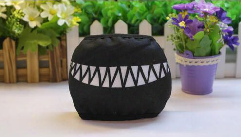 500pcs Cartoon Funny Teeth Black Cotton Black Mouth Mask Fashion Unisex Half Face Mask Fashion Mouth Mask