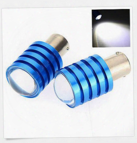 50pcs 1156 1157 T20 7w Cree Q5 Led Pure White Car Signal Reverse Light Lamp Bulb