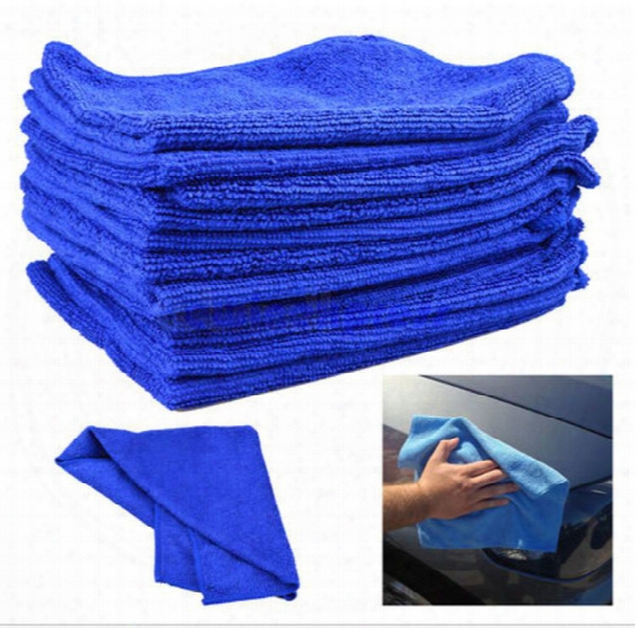 50x Microfiber Towel Car Cleaning Wash Clean Cloth Free Shipping Car Clean Towel Car Care Hot