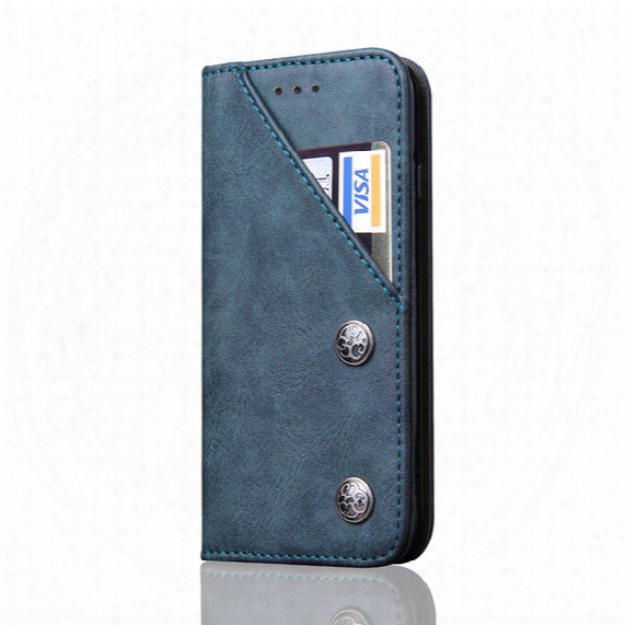Caseme Leather Wallet Flip Stand Slot Phone Cases Cover For Iphone 8 7 Plus 6s Plus Samsung Note 8 S8 Plus With Card Slot Kickstand Gift