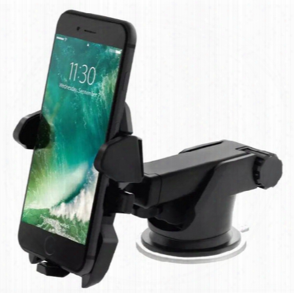 Cell Phone Holder Car Mount Holder Cell Phone Holder Car Hoder Long Neck 360 Degreee Adjustable Universal With Strong Suction Cup