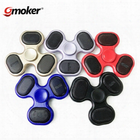 Fidget Spinner Audio Sd Tf Card Led Speaker Music Hand Spinner Finger Spinner Toy Edc Toy For Decompression Anxiety Toys