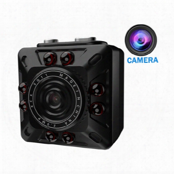 Flykasi Sq10 Mini Dv Camera 1080p Full Hd Car Dvr Recorder Motion Detection