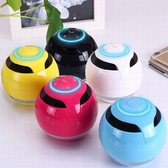 Free Dhl Mini Bluetooth Speaker Column Speaker Bluetooth Portable Fm Radio Mp3 Caixa De Som Amplifer With 2gb/8gb Sd Card Loudspeaker