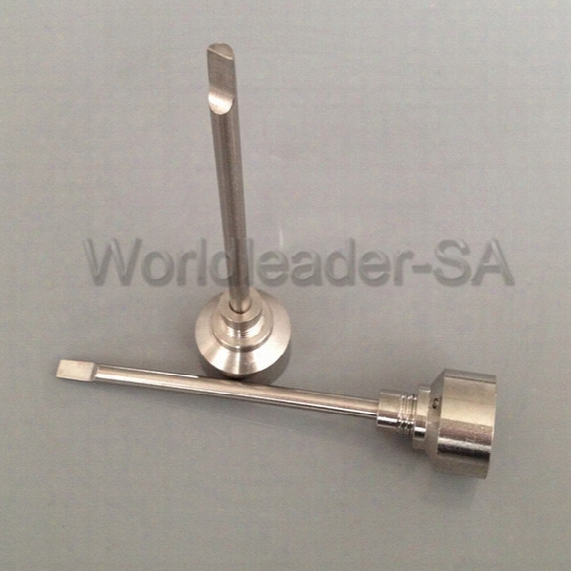 Latest Universal Smoking Accessory Titanium Nail Metal Joint 18mm Oil Carb Cap Tool For Glass Bong Water Piper