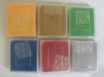 Mix 7 Cartridge Free Shipping Via Dhl/ems English Language Gameboy Cartridges Poke Gbc Games Green Yellow Red Silver Gold Blue Crystal