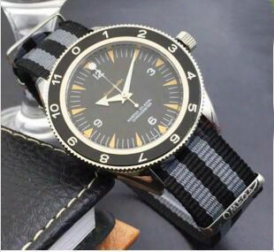 New Mechanical Men 300 Master Co-axial 41mm Automatic Watches James Bond 007 Spectre Mens Sports Watch Wristwatch