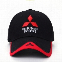 2017 NEW 3D Mitsubishi hat cap car logo moto gp moto racing baseball cap hat adjustable casual trucket hat
