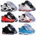 Free Shipping Wholesale Cheap online hot Sale New Best basketball shoes Air Retro 6 VI Carmine Sneaker Sport Shoe VI US 8-13