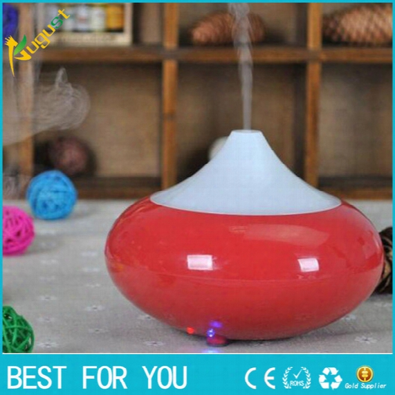 Ultrasonic Air Humidifier Aroma Oil Diffuser Ionizer Generator Aromatherapy Office Purifier Mist Maker 12w With Led 7 Colors Usa Uk Eu A