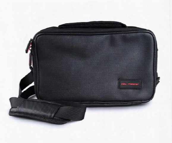 Dhl Free Coil Master Vape Bag Big Capacity Vape Handbag Messenger Bag Vape Gear Carrying Case E Cig Mod Battery Tool Kit Series