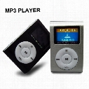 Colorful Mini Clip MP3 Player with 1.2'' Inch LCD Screen Music player with Micro SD Card TF Slot / Earphone / USB Cable with Gift box