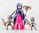 New 8 garage kit PVC Toy Action Figure Doll ornaments