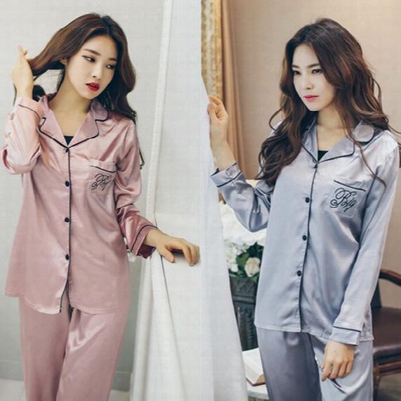 Women Silk Nightwear Pyjamas Nature Silk Home Clothing Sleeve Winter Sleepwear Soft Skin Care High Quality Factory Wholesale Free Shipping