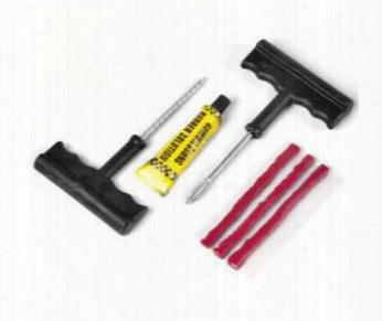 10 Sets /lot Wholesale 6pcs/set Car Auto Tubeless Tire Tyre Puncture Plug Repair Kit