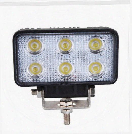 18w 6 Led Work Light Lamp Bar Flood Beam Tractor Truck Bright 12v 24v Ce For Motorcycle Car