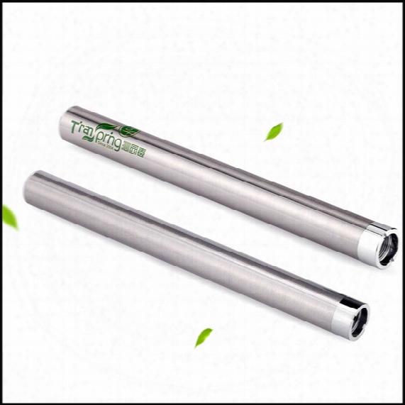 510 Thread Transpring Mix2 280mah Preheat Battery For Thick Oil Vaporizer Cartridge Buttonless Battery Bud Touch Vape Pen