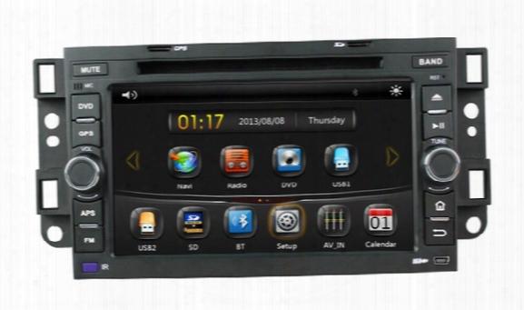 "7"" Chevrolet Aveo Epica Lova Captiva Spark Optra 2002 2003 2004 2005 2006 2007 2008 2009 2010 Car Dvd With Gps(optional),audio Radio Stereo"