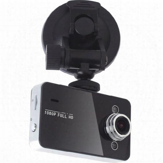 "Car Dvr Recorder K6000 W/ Retail Box Full Hd Vehicle Cameras Camcorder 2.4"" 1080p Vehicle Black Box Dvr Night Version Wide Angle Lens Dvrs"