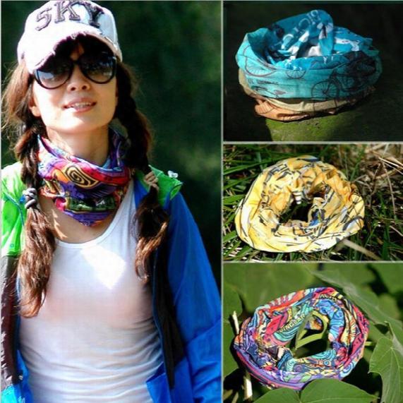 Dhl Shipping Wholesale New Paisley Design Biker Bandana Boy Girl Neck Scarves Wrist Wrap Skull Head Bandana 144 Styles Bandanas 0061