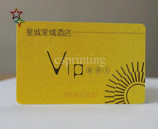 Free Design Plastic Card Printing, Print Gift Card, Membership Card Printing