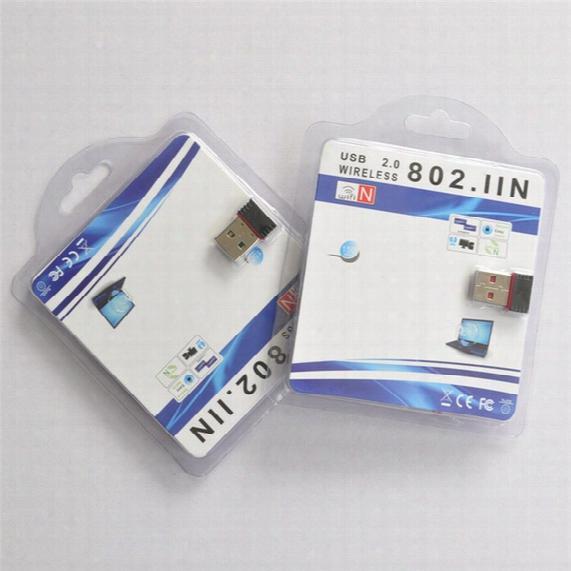 New Usb Mini Wifi Wireless Adapter Wi-fi Network Card 802.11n 150m Networking Wi Fi Adapter Free Shipping