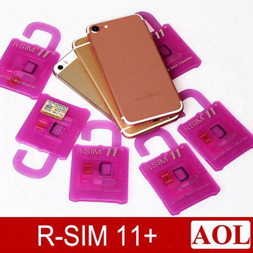 Original R-sim11+ Perfect Unlock For Ios10 -ios7 Rsim 11 Plus Rsim 11+ Unlock Card Support Iphone 7 7p 6plus 6s 5s Lte 4g 3g Sprint At&t