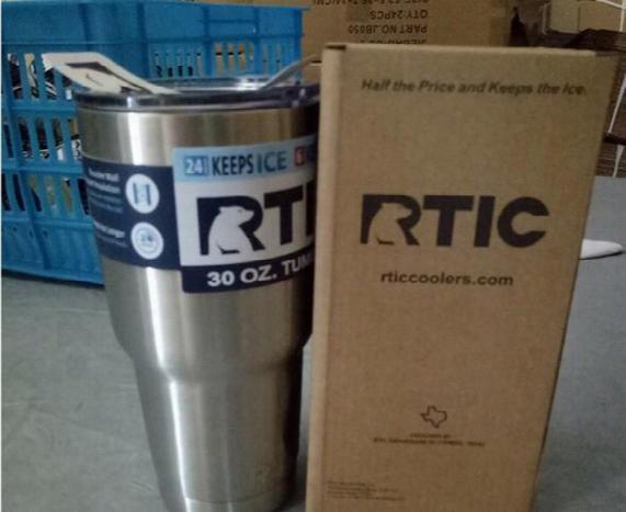 Rtic Rambler Tumbler 30 Oz 20oz Rtic Cups Cars Beer Mug Large Capacity Mug Tumblerful With Vacuum Double Wall Keep Cool Or Hot