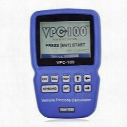 2015 best price VPC-100 Hand-Held Vehicle PinCode Calculator with 300+200 Tokens VPC100 Calculator/Reader VPC 100 Auto Key Programmer