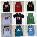 Men Basketball 23 Space Jam Jersey LOONEY TOONES Squad Team Dream 96 98 All Star TUNESQUAD Throwback College North Carolina with player name
