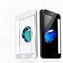 Tempered Glass Screen Protector for iphone 8 plus 3D Carbon Fiber Soft Edge Full Cover Anti-Scratch Film