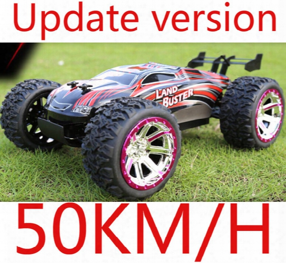 Wholesale- 4wd High Speed 50km/h Monster Truck With 2.4ghz Radio Remote Control Charger Included 1/12 Scale Rc Car