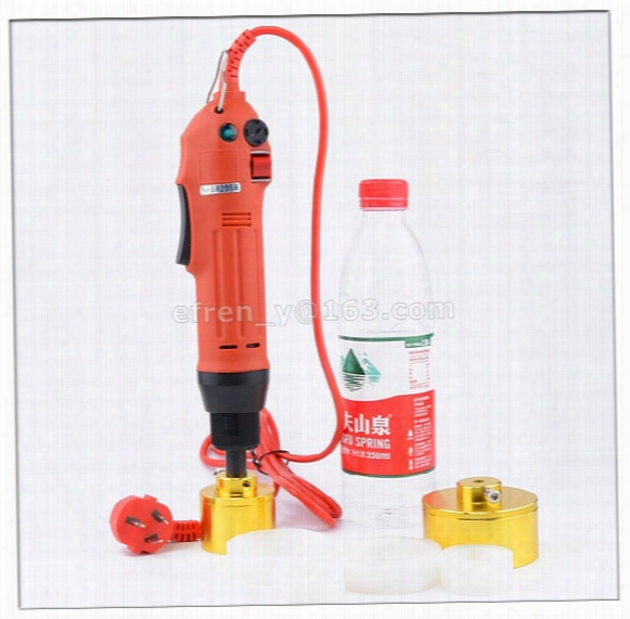 100% Warranty New Portable Automatic Electric Bottle Capping Machine, Cap Screwing Machine, Electric Cap Sealing Machine