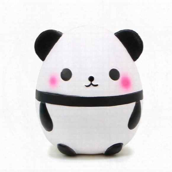 5pcs/lot New 15cm Hot Kawaii Jumbo Panda Squishy Soft Doll Collectibles Cartoon Sweet Scented Super Slow Rising Kid Toy Gift