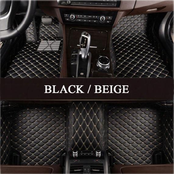 Lunda Custom Fit Car Floor Mats For Audi A1 A3 A4 A6 A7 A8 Q3 Q5 Q7 Tt 3d Car-stylling Heavy Duty All Weather Carpet Floor Liner
