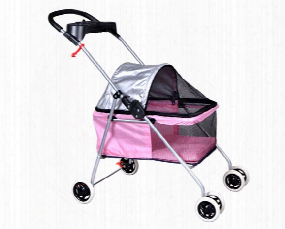 New Best Pet Cute Posh Pet Stroller Dogs Cats With Cup Holder 6 Color