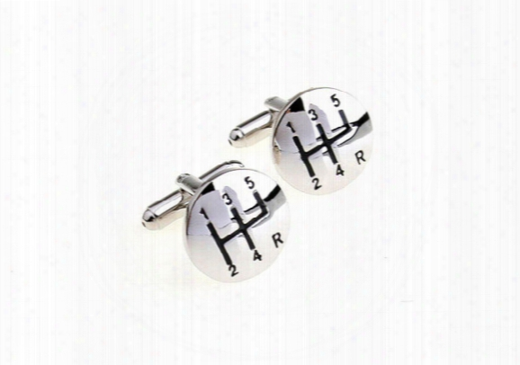 Stainless Steel Car Shift Gear Cufflinks For Men Gearbox Cufflinks French Cufflinks Wedding Cufflinks Fathers Day Gifts