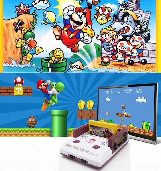 Subor Bully D99 Home Video Game Console, Fc Nes Game, Double Handle Card Games, Eight Games Machine
